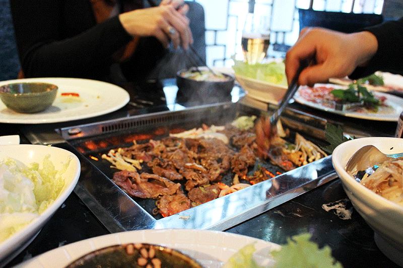 Coréen Barbecue vous fait voyager par-delà les continents