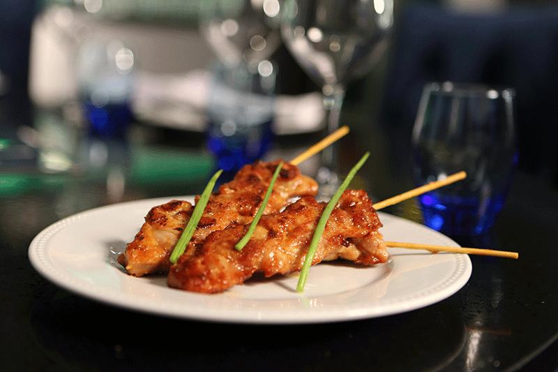 Brochettes de poulet à la citronnelle - Restaurant Lyon - Coréen Barbecue