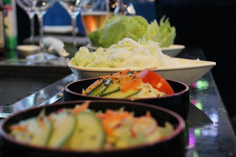 Coréen Barbecue, un buffet à volonté pour les végétariens