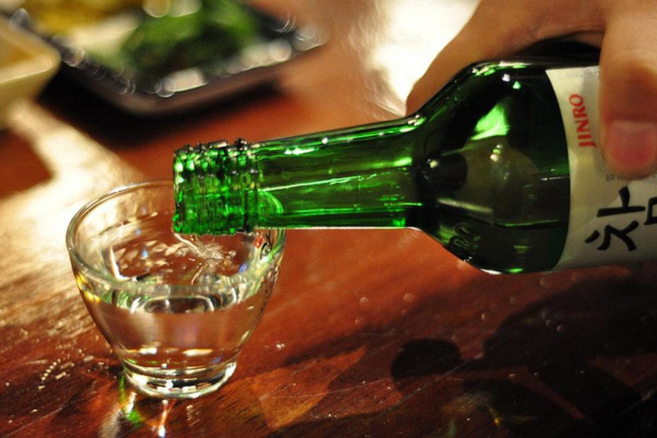 Les boissons du Coréen Barbecue : du soju pour mieux digérer